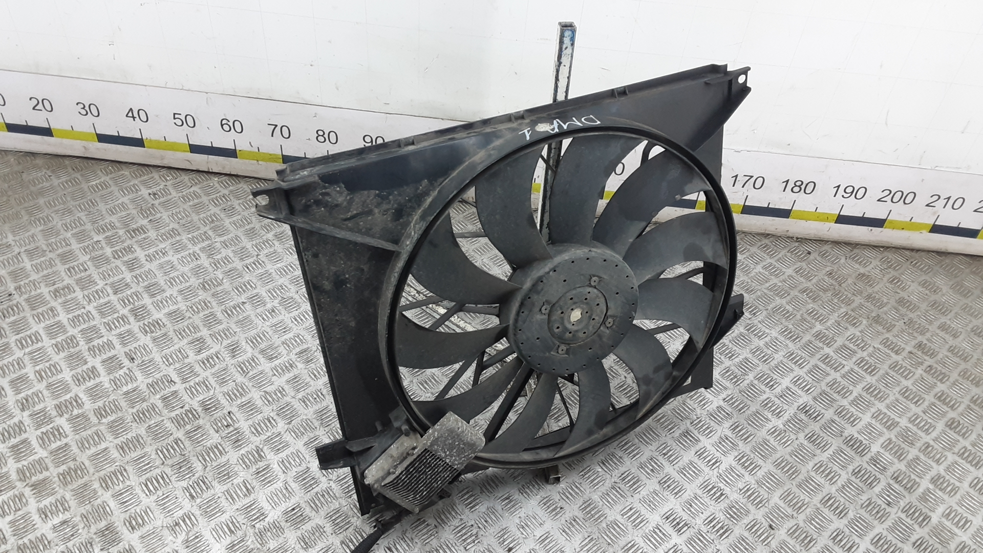 Вентилятор радиатора, MERCEDES BENZ, M-CLASS W163, 2001