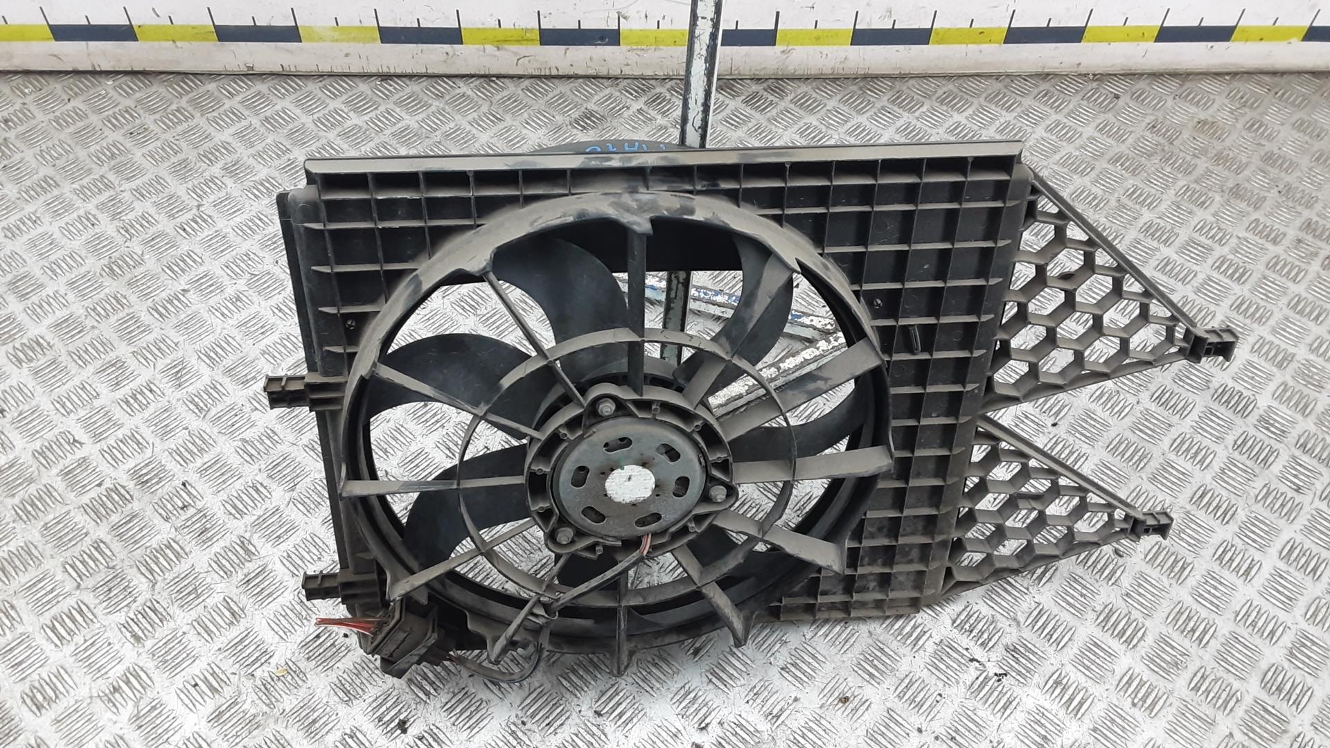 Вентилятор радиатора, SKODA, FABIA 2, 2013