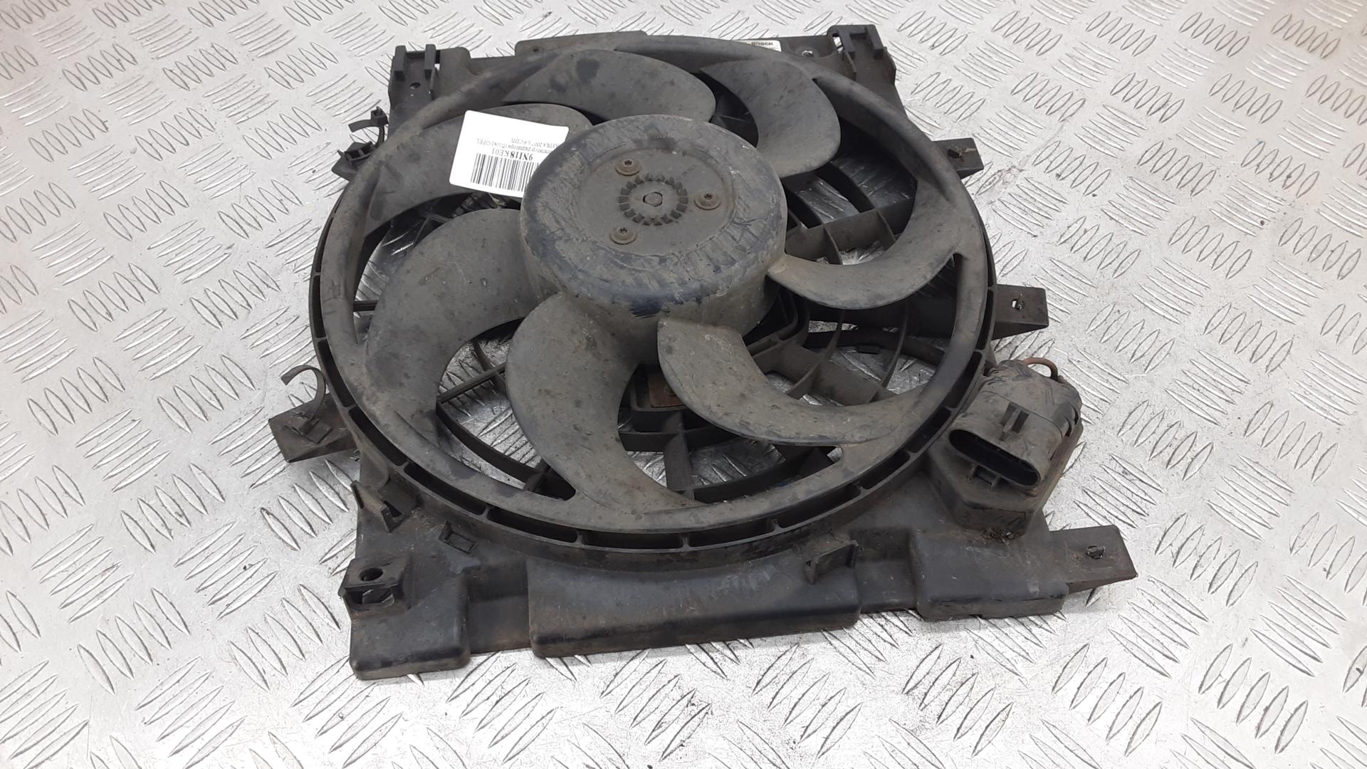 Вентилятор радиатора, OPEL, ASTRA H, 2007