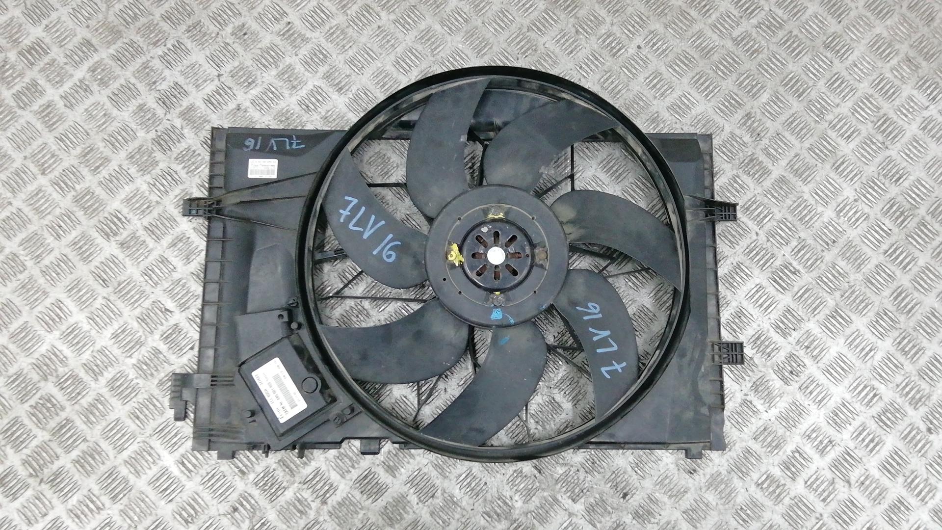 Вентилятор радиатора, MERCEDES BENZ, C-CLASS W203, 2003