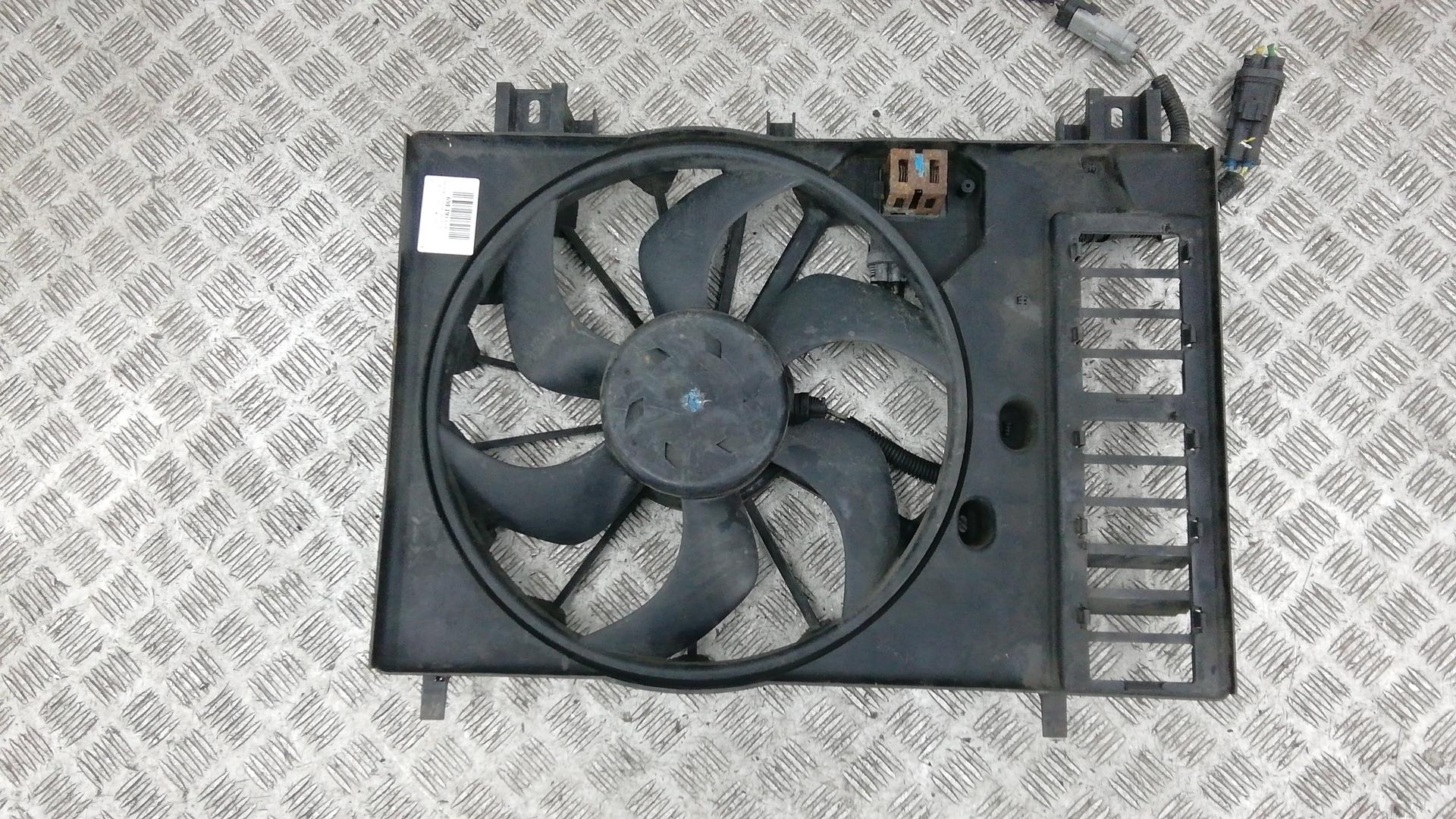 Вентилятор радиатора, CITROEN, C5 2, 2011
