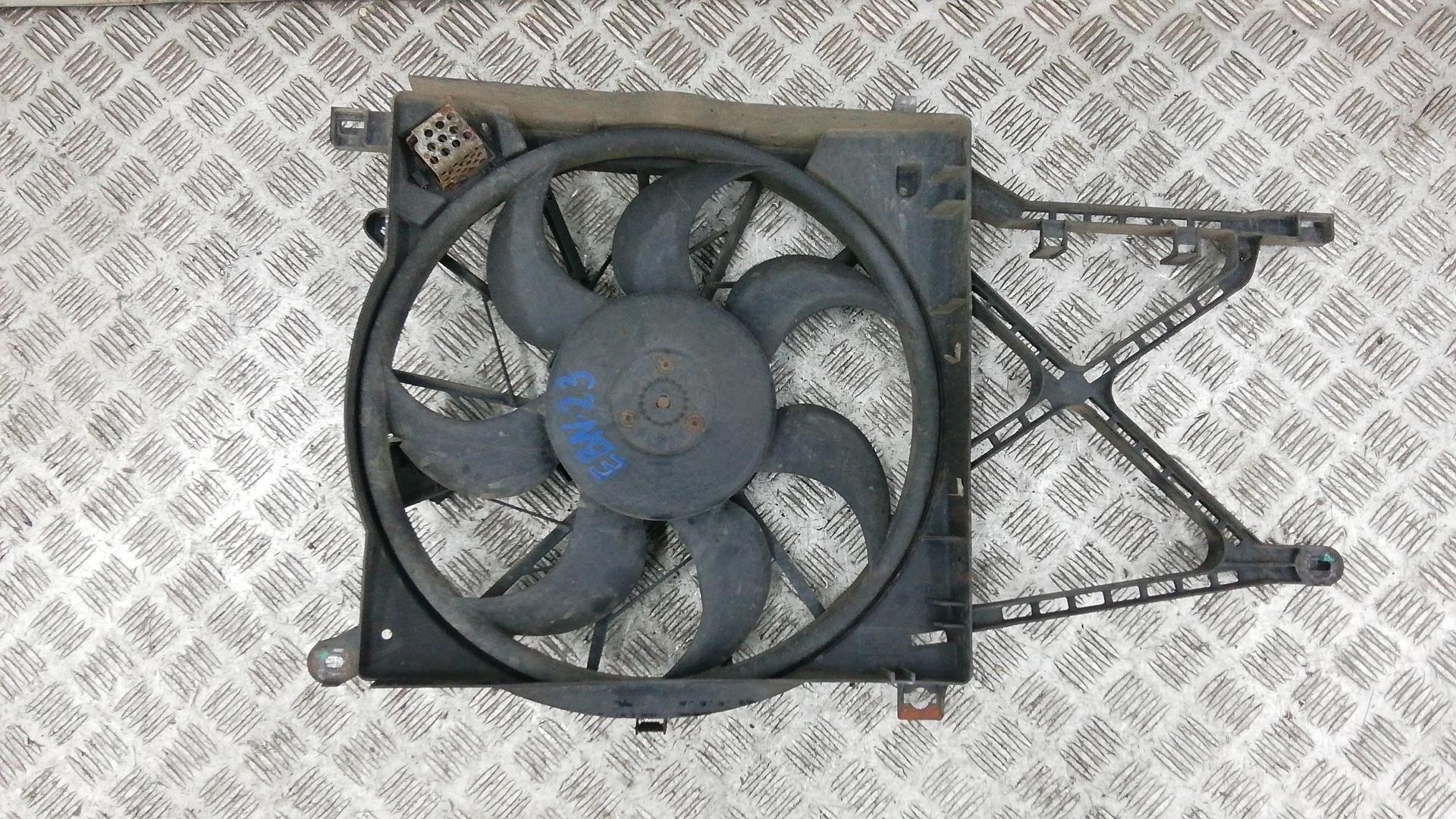 Вентилятор радиатора, OPEL, ZAFIRA B, 2005
