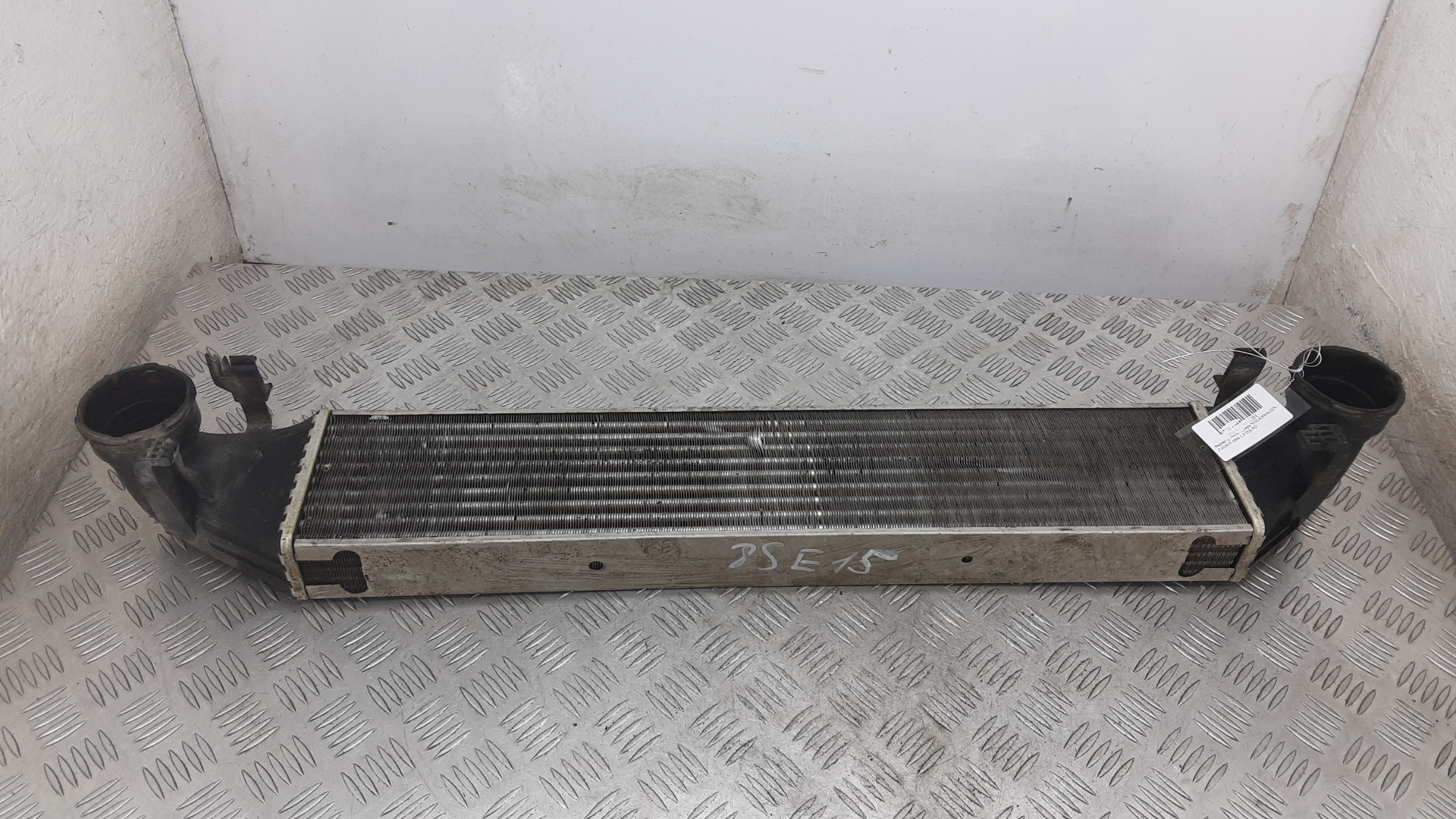 Радиатор интеркуллера, MERCEDES BENZ, C-CLASS W203, 2001