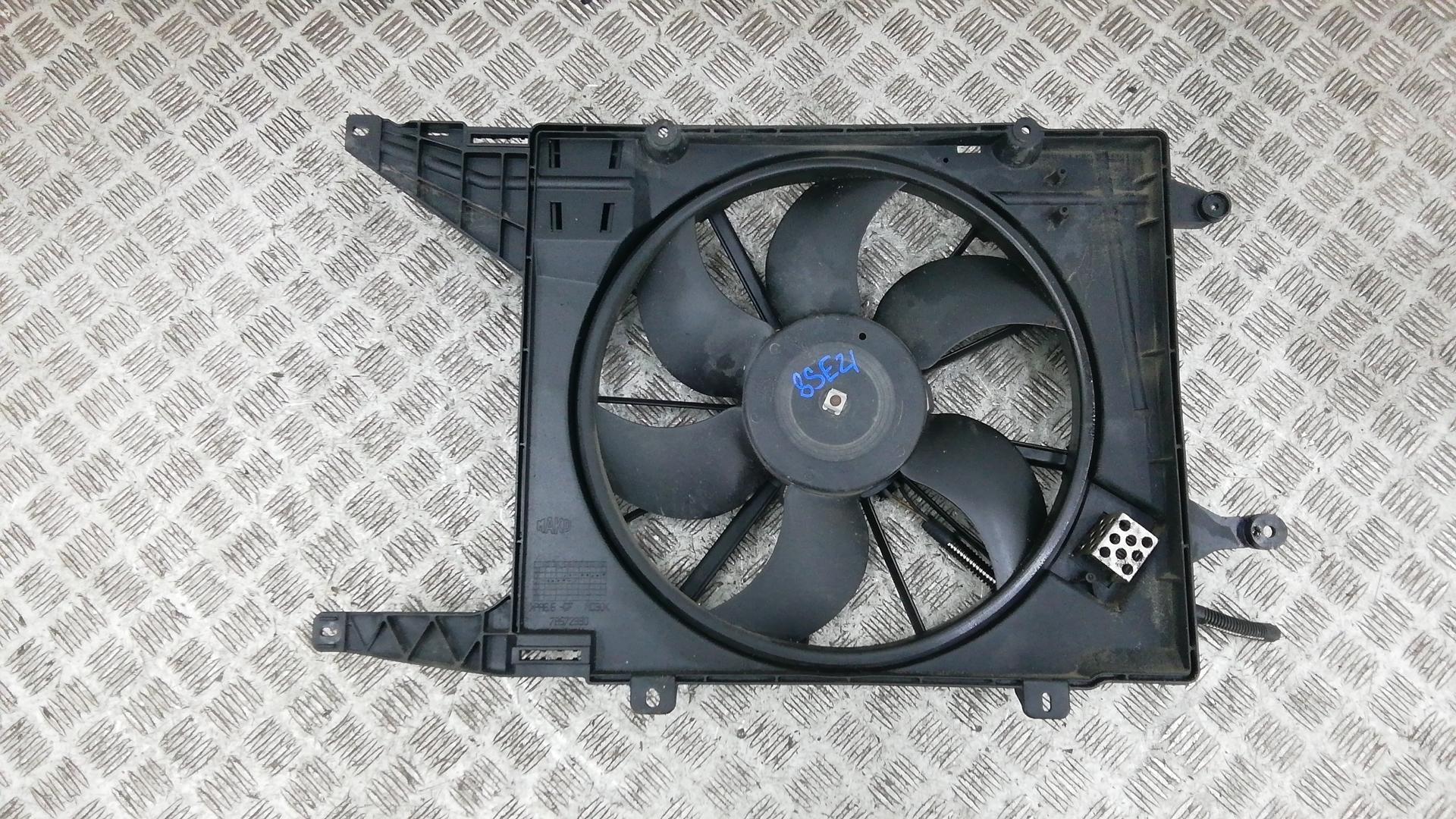 Вентилятор радиатора, RENAULT, MEGANE 1, 2002