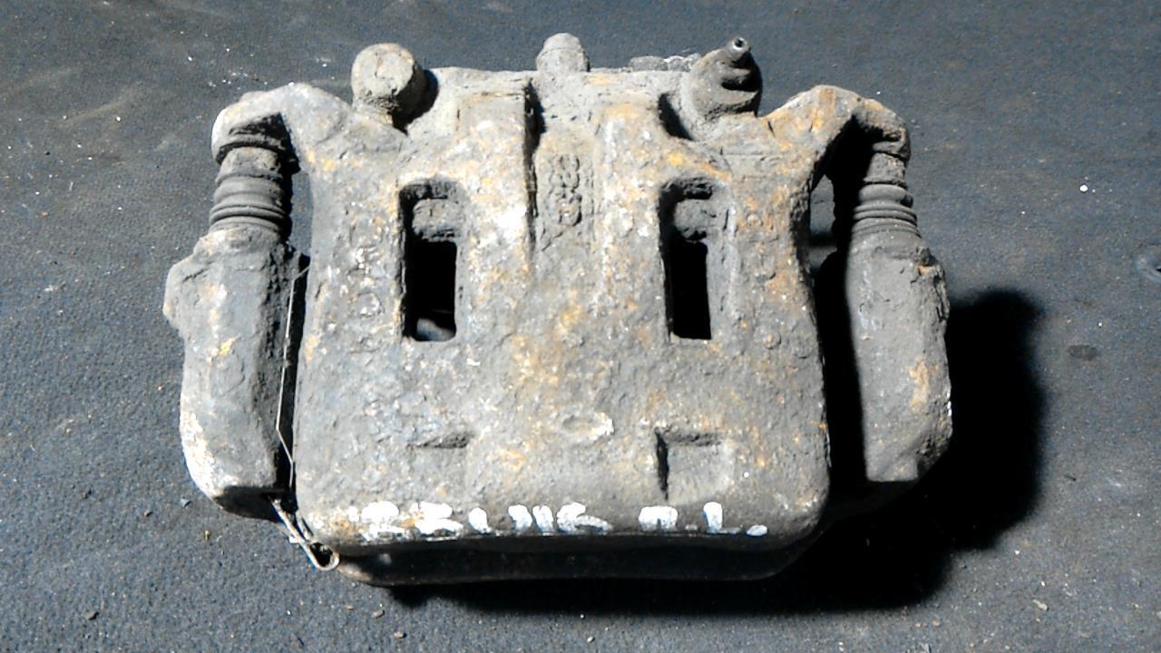 Суппорт тормозной передний левый, RENAULT, KOLEOS, 2008