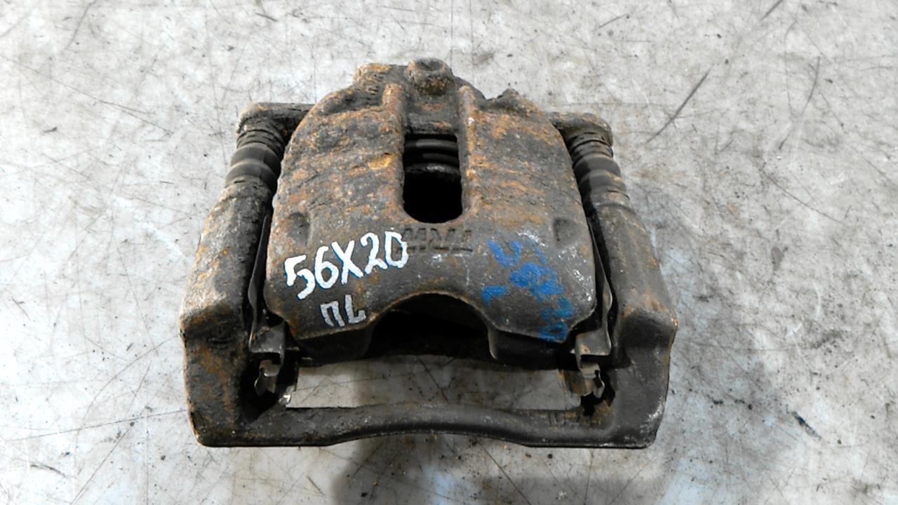 Суппорт тормозной передний левый, NISSAN, NOTE E11, 2007