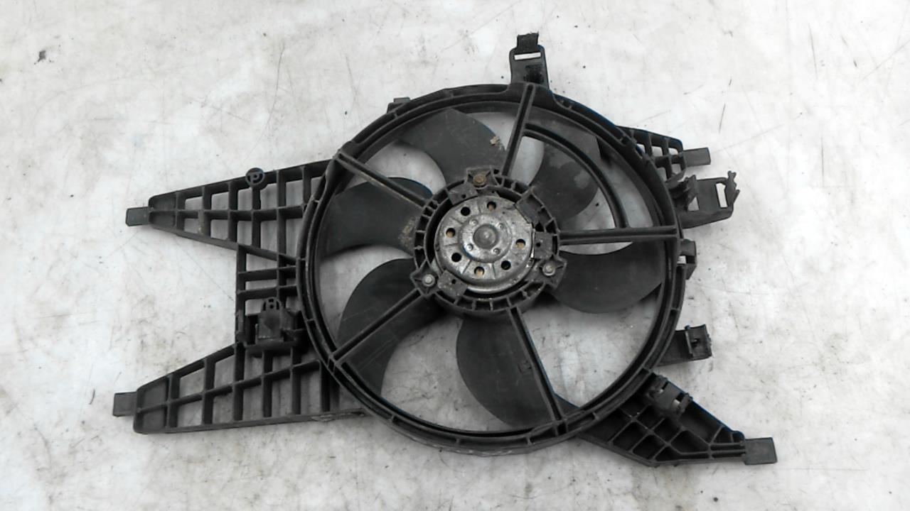 Вентилятор радиатора, RENAULT, KANGOO 2, 2009