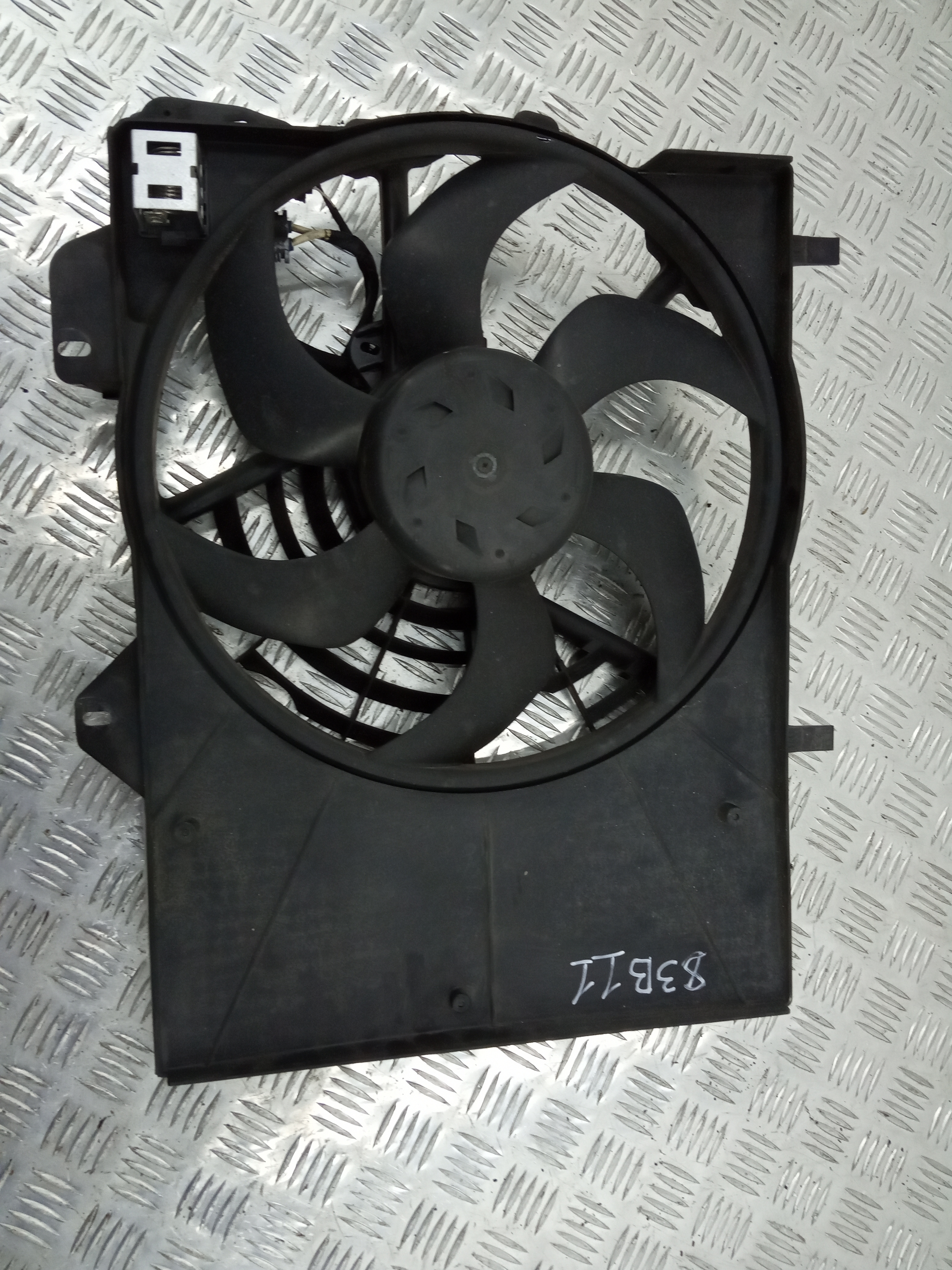 Вентилятор радиатора, CITROEN, DS3, 2013