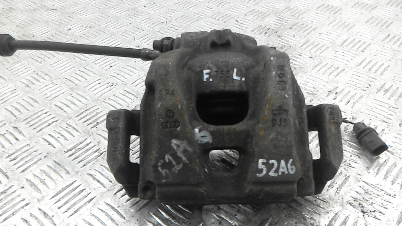 Суппорт тормозной передний левый, AUDI, A4 B8, 2010
