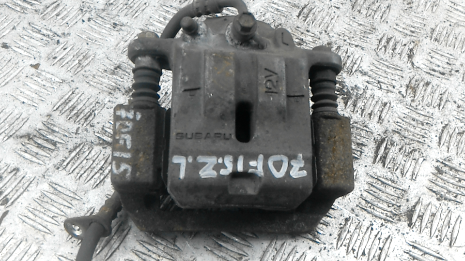 Суппорт тормозной задний левый, SUBARU, TRIBECA 2, 2012