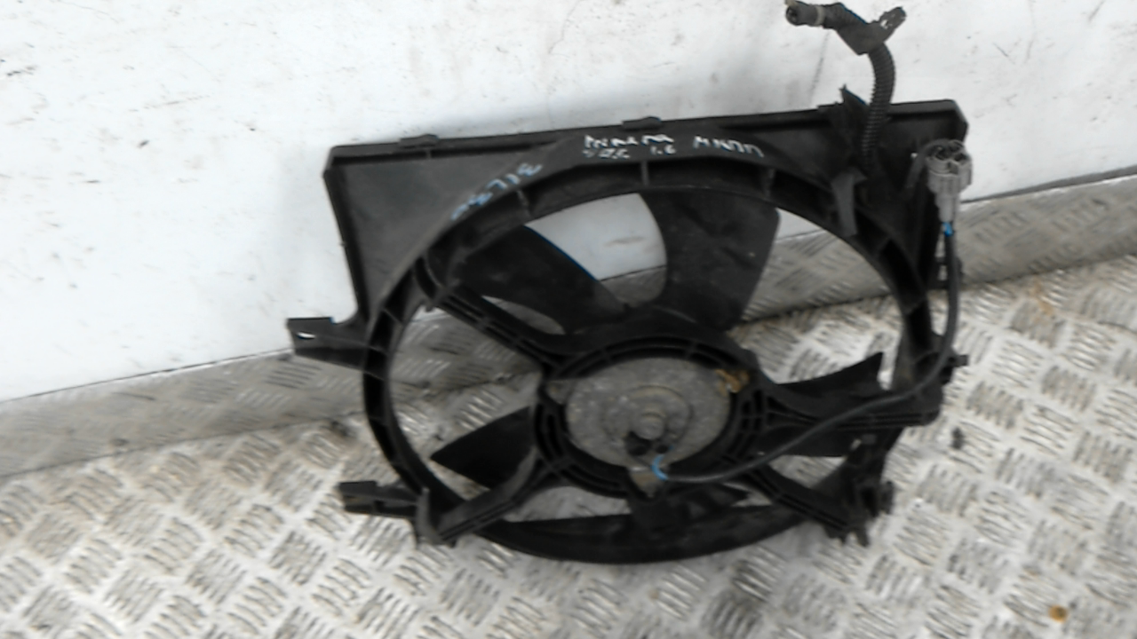 Вентилятор радиатора, NISSAN, PRIMERA P11, 1997