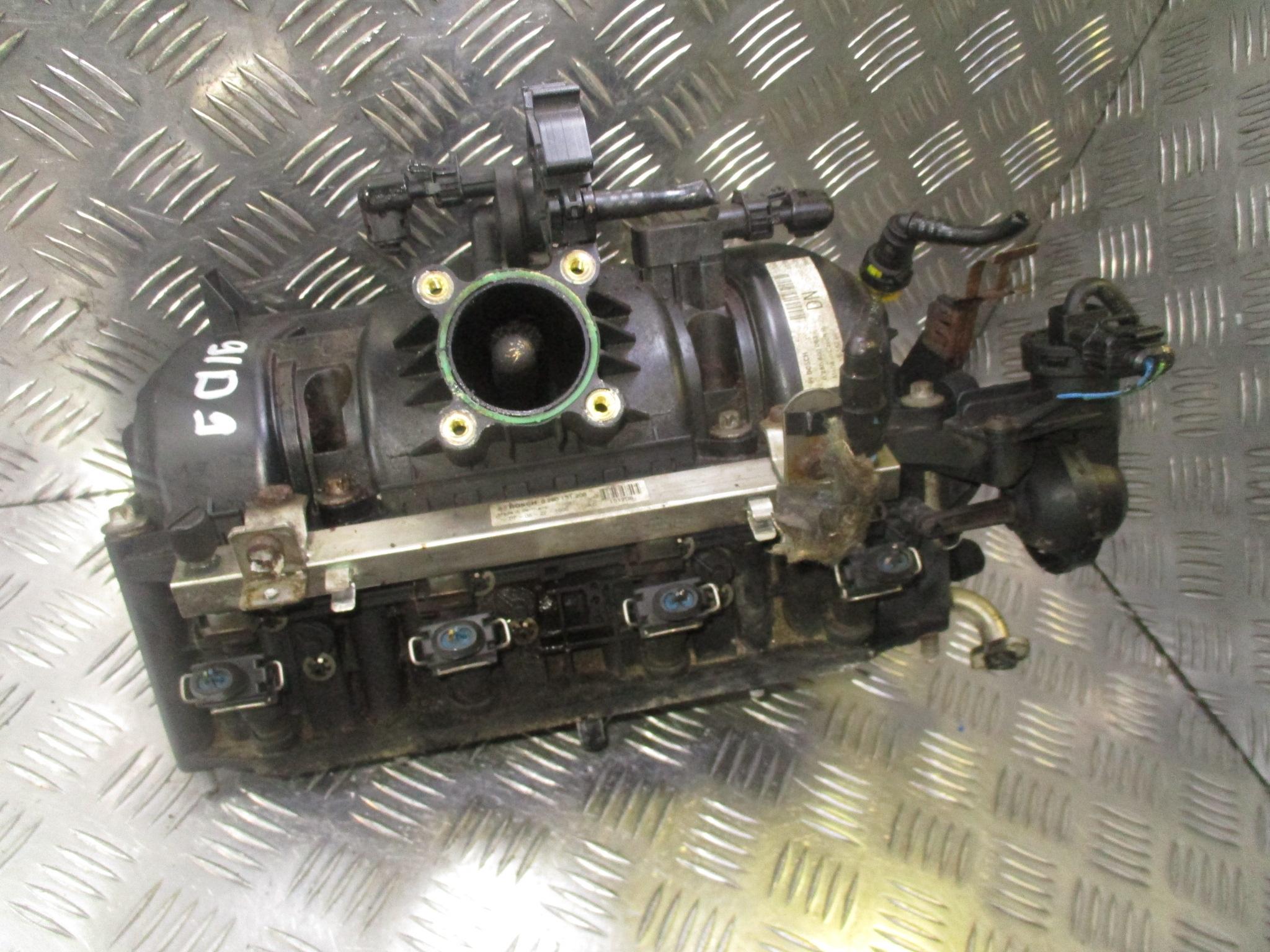 Впускной коллектор бензиновый, OPEL, CORSA D, 2007