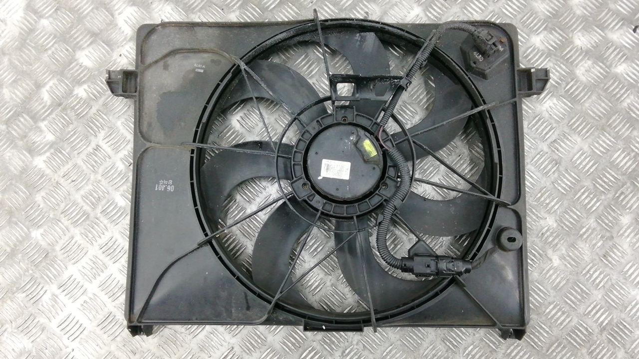 Вентилятор радиатора, KIA, CARENS 3, 2009