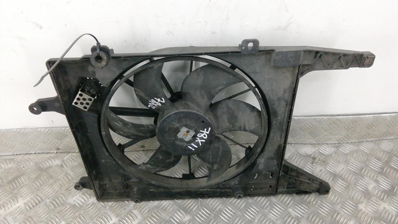 Вентилятор радиатора, RENAULT, MEGANE 3, 2009