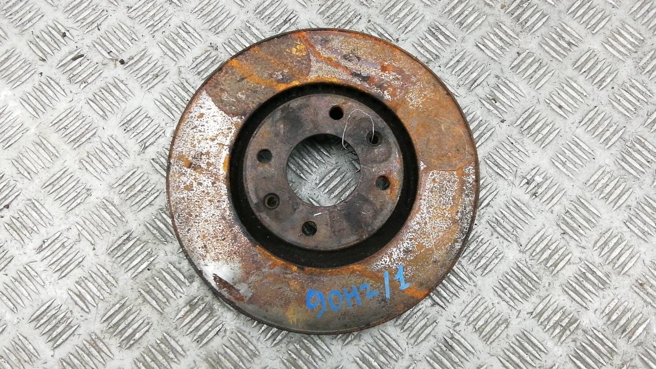Диск тормозной передний, CITROEN, C4 1, 2004