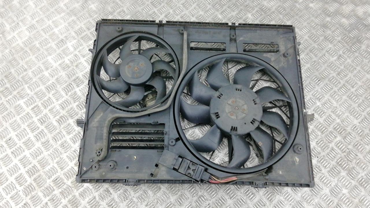 Вентилятор радиатора, AUDI, Q7, 2008