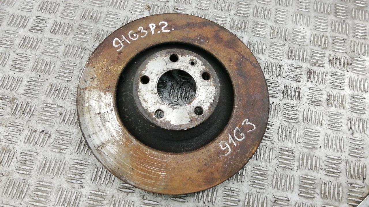 Диск тормозной передний, AUDI, A6 C6, 2008
